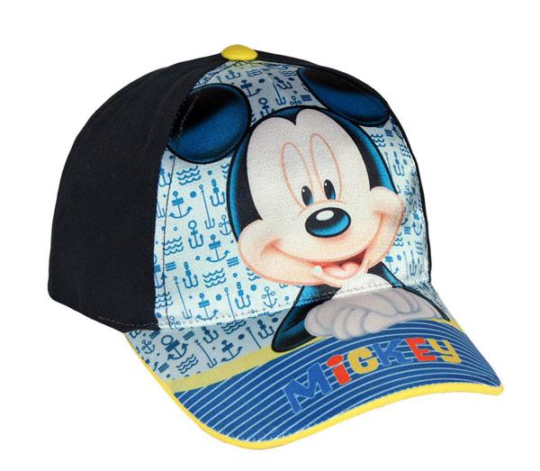 Šiltovka Mickey modrá veľ. 52
