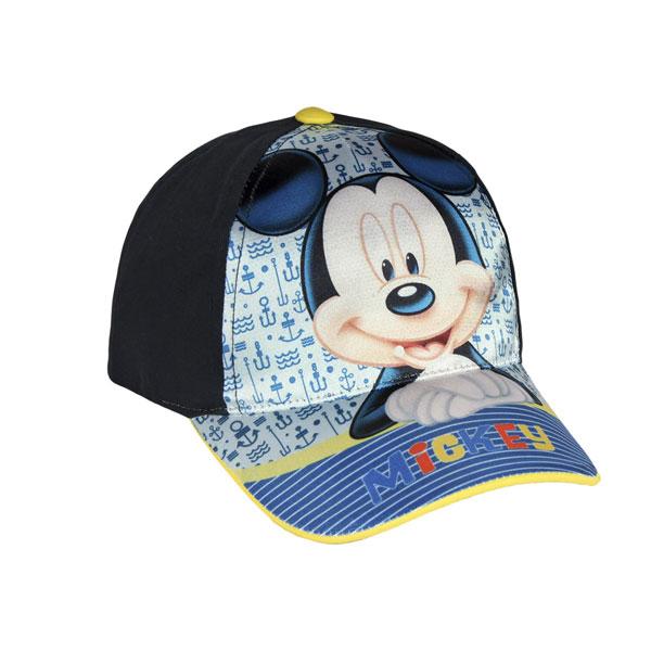 Šiltovka Mickey modrá veľ. 54