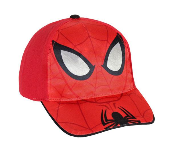 Šiltovka Spiderman červená veľ. 54