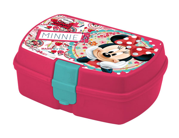 Box na desiatu Minnie Mouse ružová