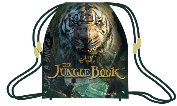 Taška na telocvik a prezuvky Kniha Džunglí 41 cm