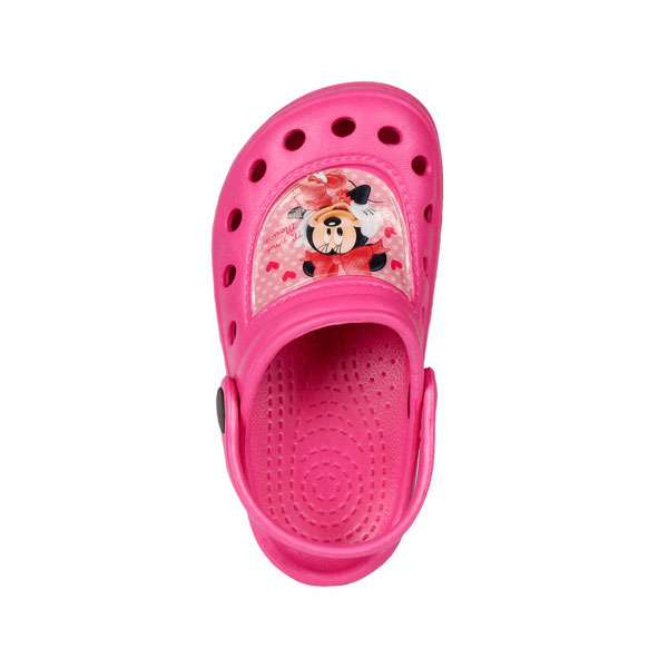 Kroksy Minnie Mouse malinové 30