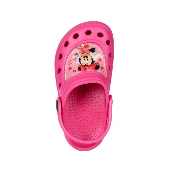 Kroksy Minnie Mouse malinové 30