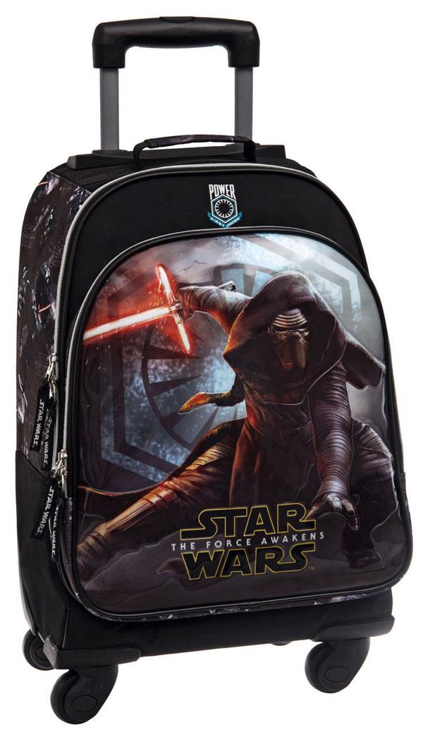 Batoh na kolieskach Star Wars VII Black 47 cm