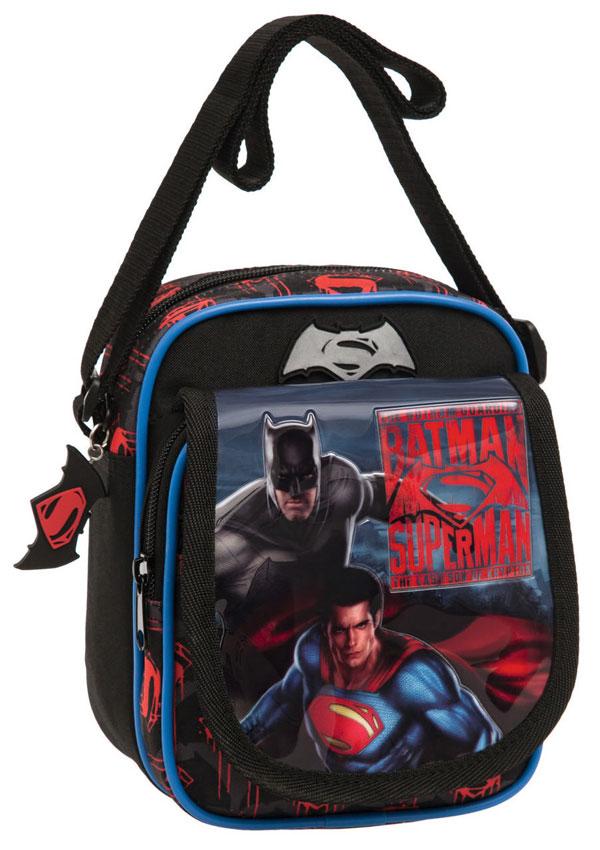 Taška cez rameno s vreckom Batman vs Superman 19 cm