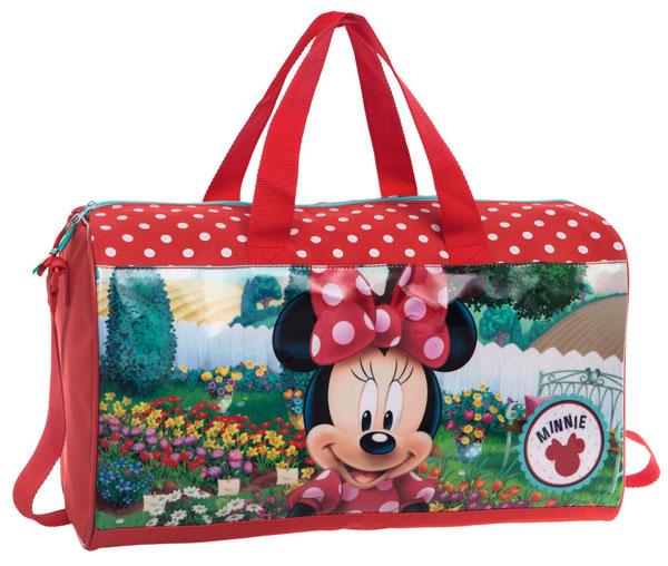 Športová taška Minnie zahradnice 42 cm