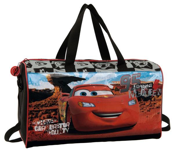 Športová taška Cars púšť 42 cm