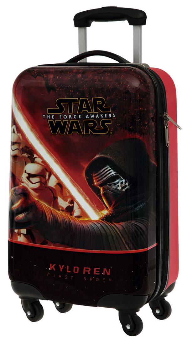 detský ABS kufor na cestyCestovný kufor ABS Star Wars VII Kylo Ren 55 cm