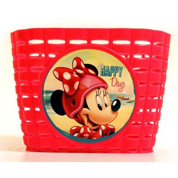 Košík na bicykel Minnie Mouse