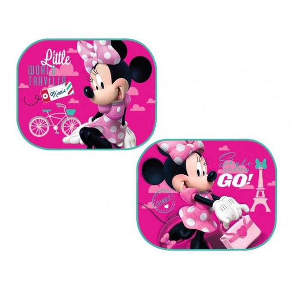 Slnečné clony Minnie Mouse ružová