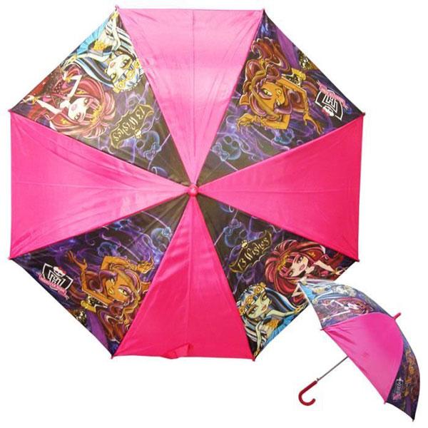 Vystreľovací dáždnik Monster High 13 želaní