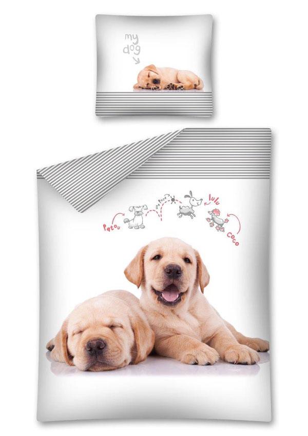 Obliečky Sweet Animals My Dog 140/200