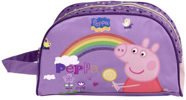 Kozmetická taštička Peppa Pig Dúha