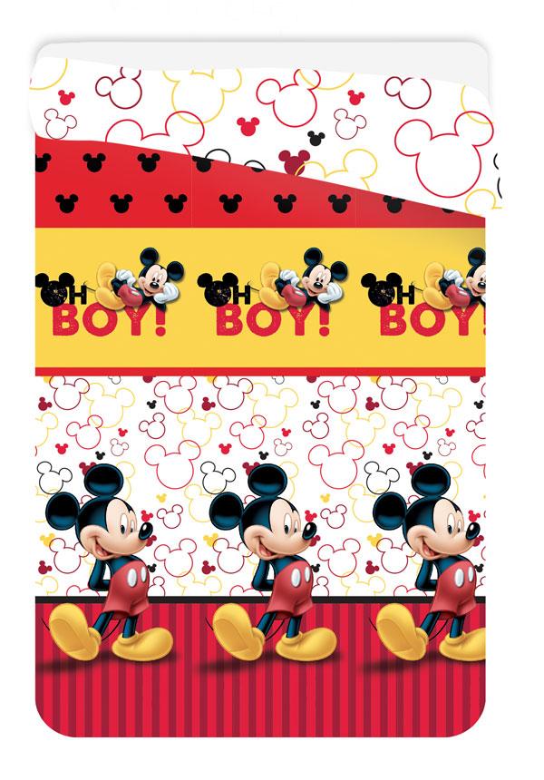 Letná prešívaná deka Mickey 180/260 cm