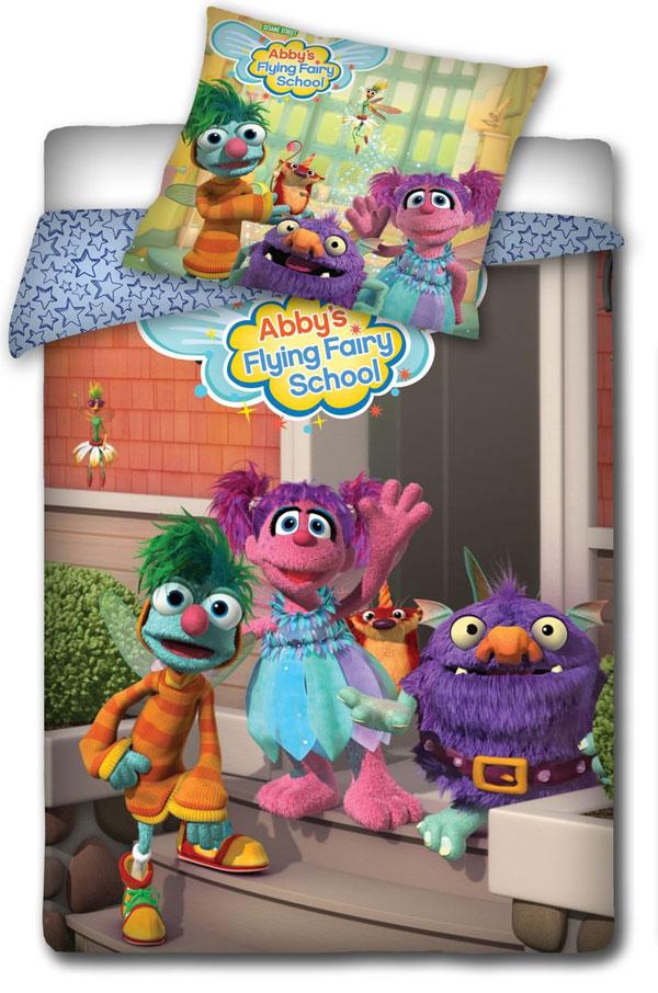 Posteľné obliečky Sesame Street School 140/200 cm