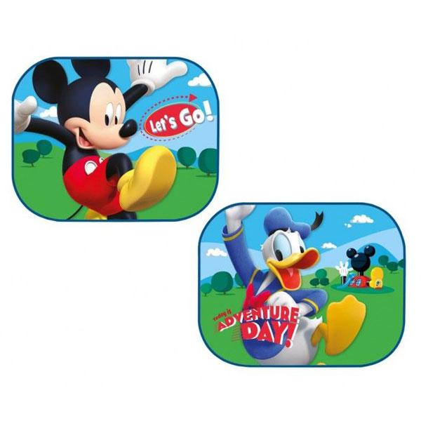 Slnečná clona Mickey a Donald 2 ks