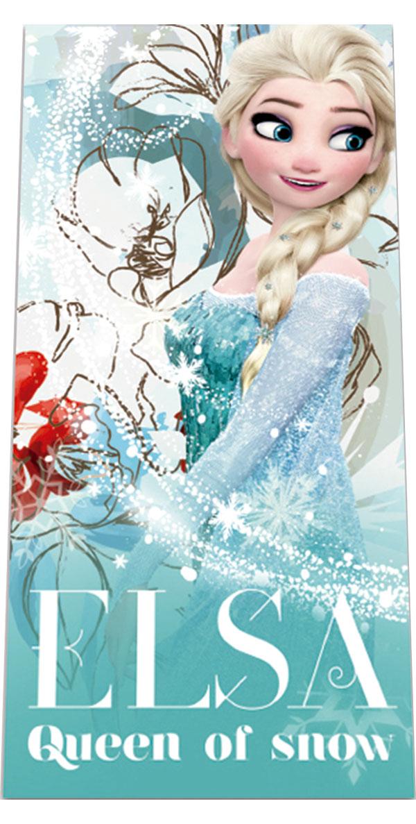 Plážová osuška Ľadové Kráľovstvo Elsa 70/140 cm