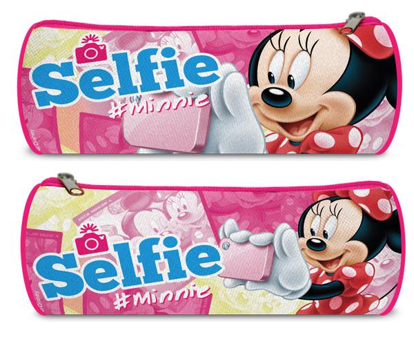 Guľatý peračník Minnie Selfie