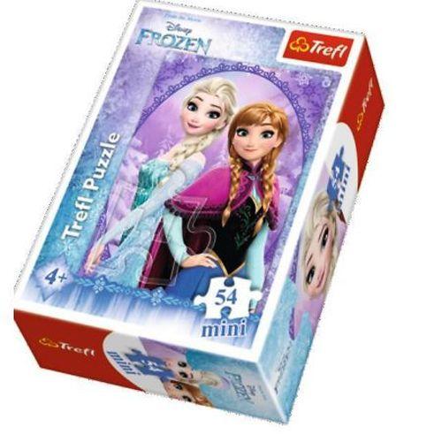 Puzzle Ľadové Kráľovstvo 54 dielikov