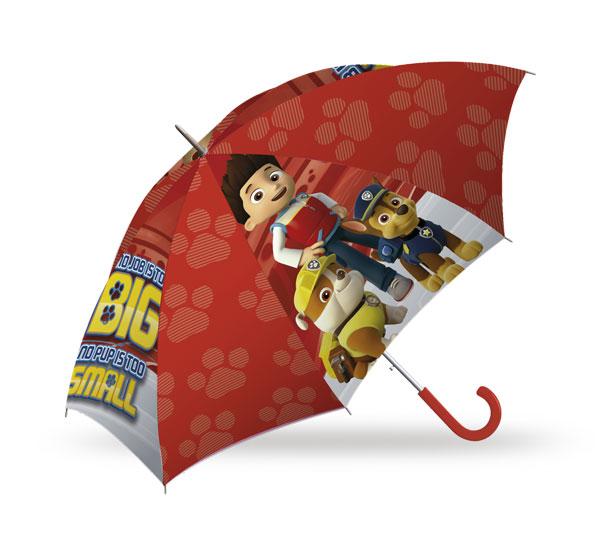 Dáždnik Paw Patrol red