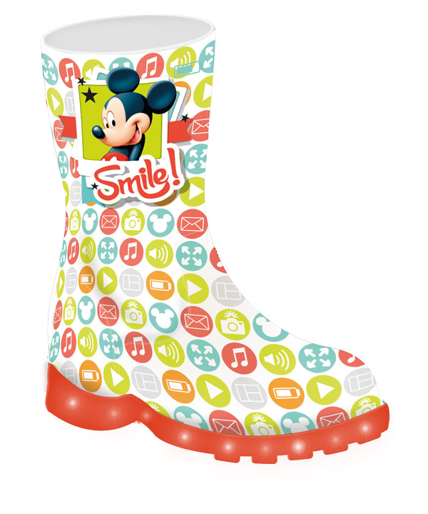 Svietiace gumáky Mickey