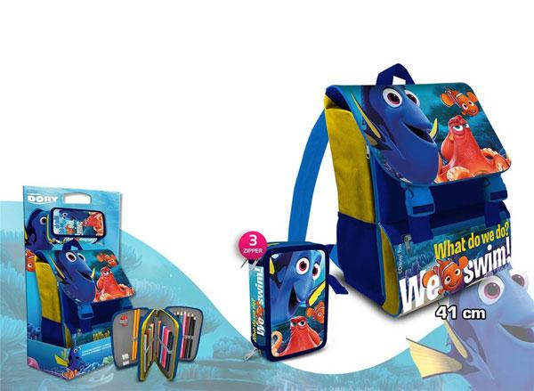 Školský set batoh a peračník Hľadá sa Dory