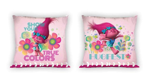 Obliečka na vankúš Trollovia colors micro 40/40