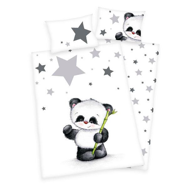 Obliecky do postielky panda 100/135