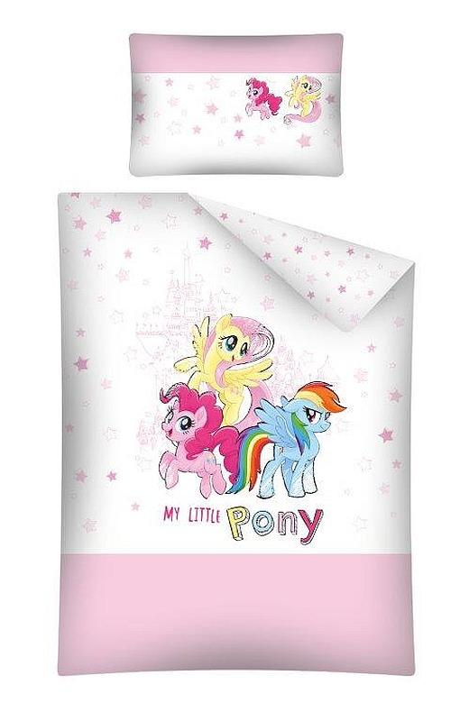 DETEXPOL Obliečky do postieľky My Little Pony  Bavlna, 100/135, 40/60 cm