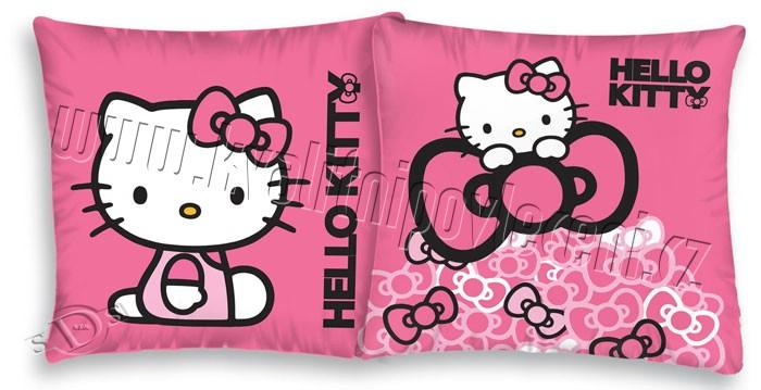 detský vankúšik Hello Kitty mašličkyObliečka na vankúšik Hello Kitty mašličky 40/40