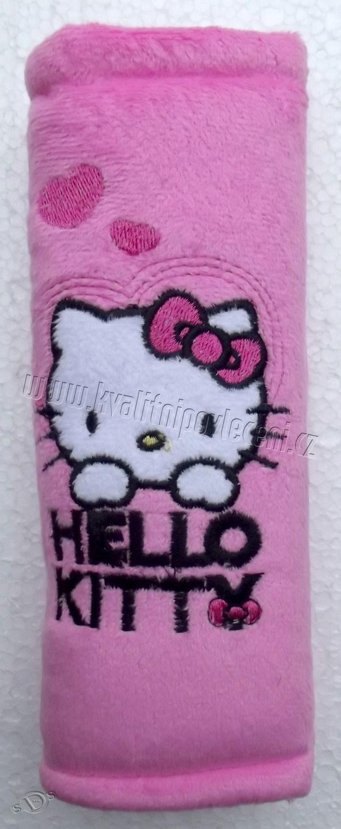 Polstrovanie pásu Hello Kitty ružová