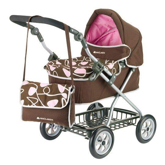 Kočík pre bábiky MACLAREN travelmate pram