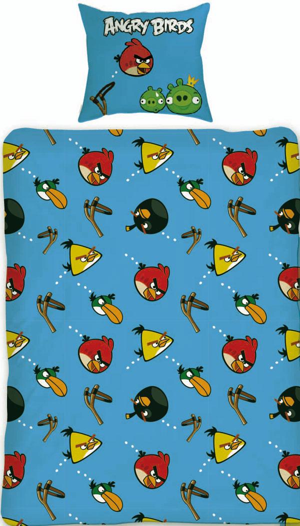 posteľné obliečky, detské návliečky Angry BirdsObliečky Angry Birds Slingshot 140/200