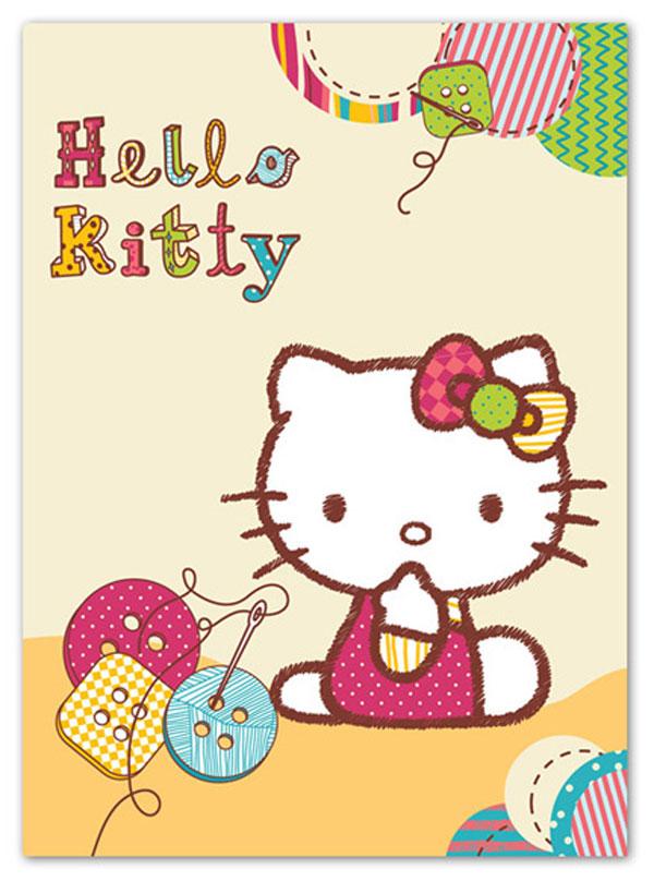 Španielska deka Hello Kitty gombíky 80/110