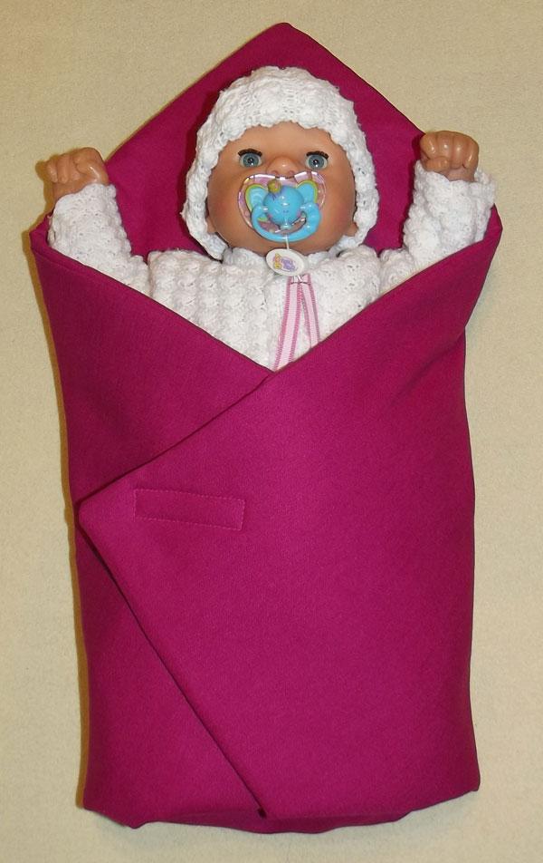 Rýchlozavinovačka pre bábiky Sýto ružová