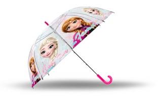 5ed0b7013 Vystreľovací priehľadný dáždnik Ľadové Kráľovstvo Anna a Elsa empty