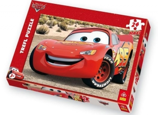 Maxi puzzle Cars Blesk 24 dielov
