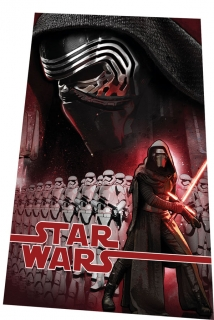Fleece deka Star Wars Kylo Ren 100/150