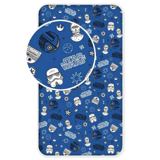 Plachta Star Wars blue galaxy 90/200